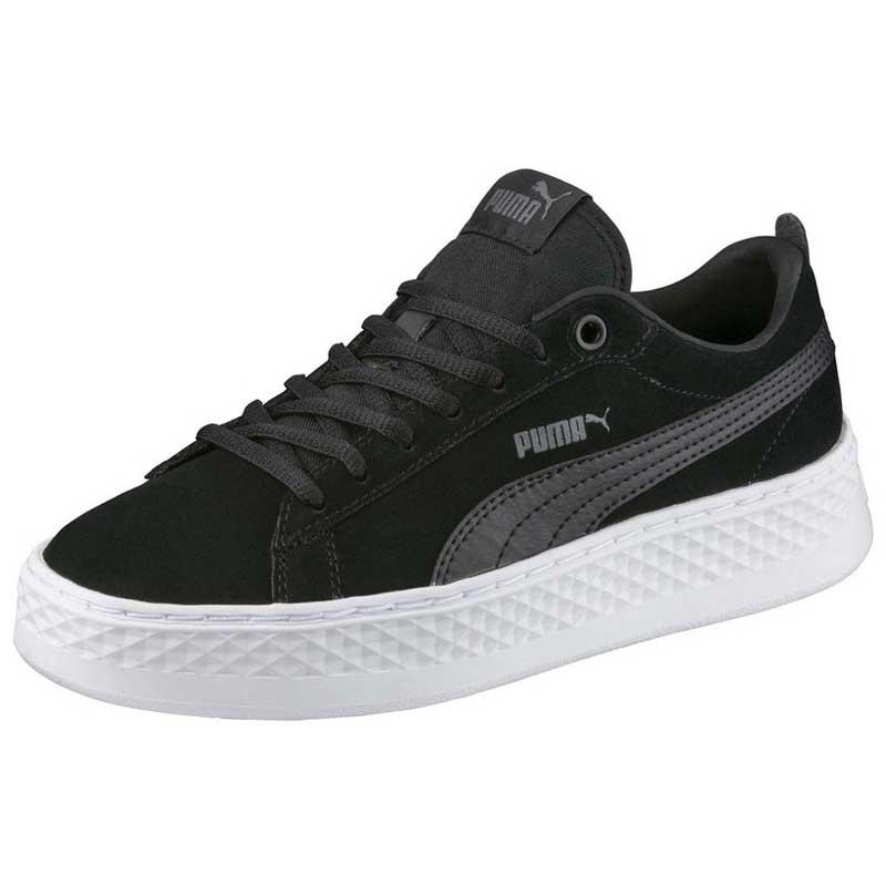 dbce097315a Puma Smash Platform SD Black buy and offers on Dressinn
