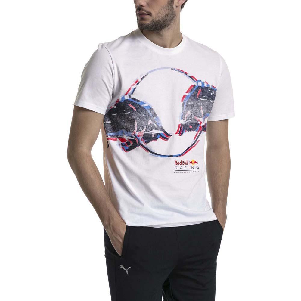 5432c6bc60f Puma Red Bull Racing Double Bull Vit köp och erbjuder, Dressinn T-shirts