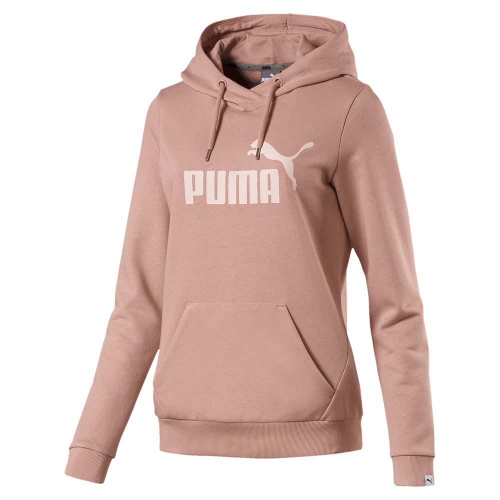 f18e0ae6b4e Puma Essential No 1 Hooded TR Rosa comprar y ofertas en Dressinn