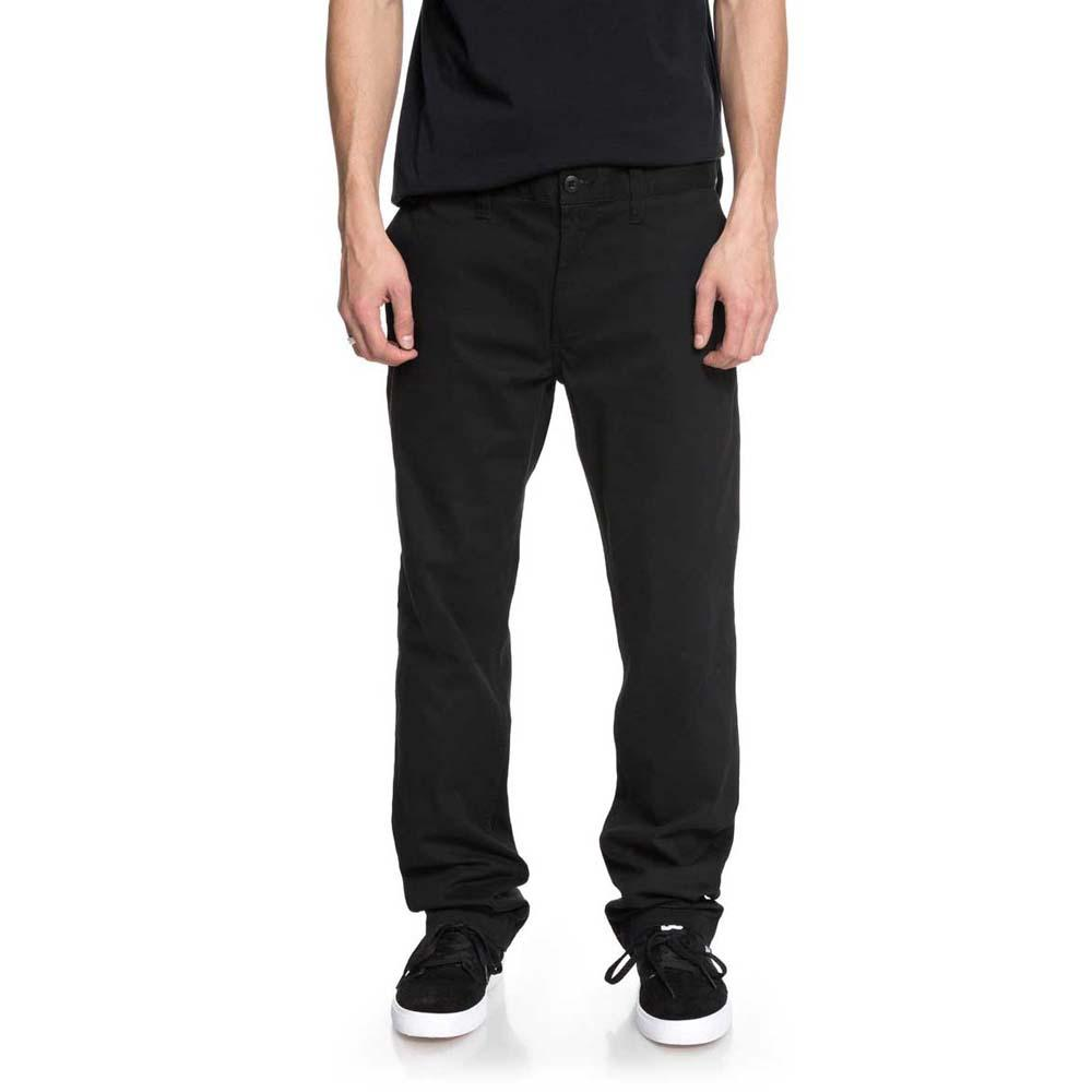 Dc shoes Worker Slim Chino 32 Black buy and offers on Dressinn b9c5ffe50d
