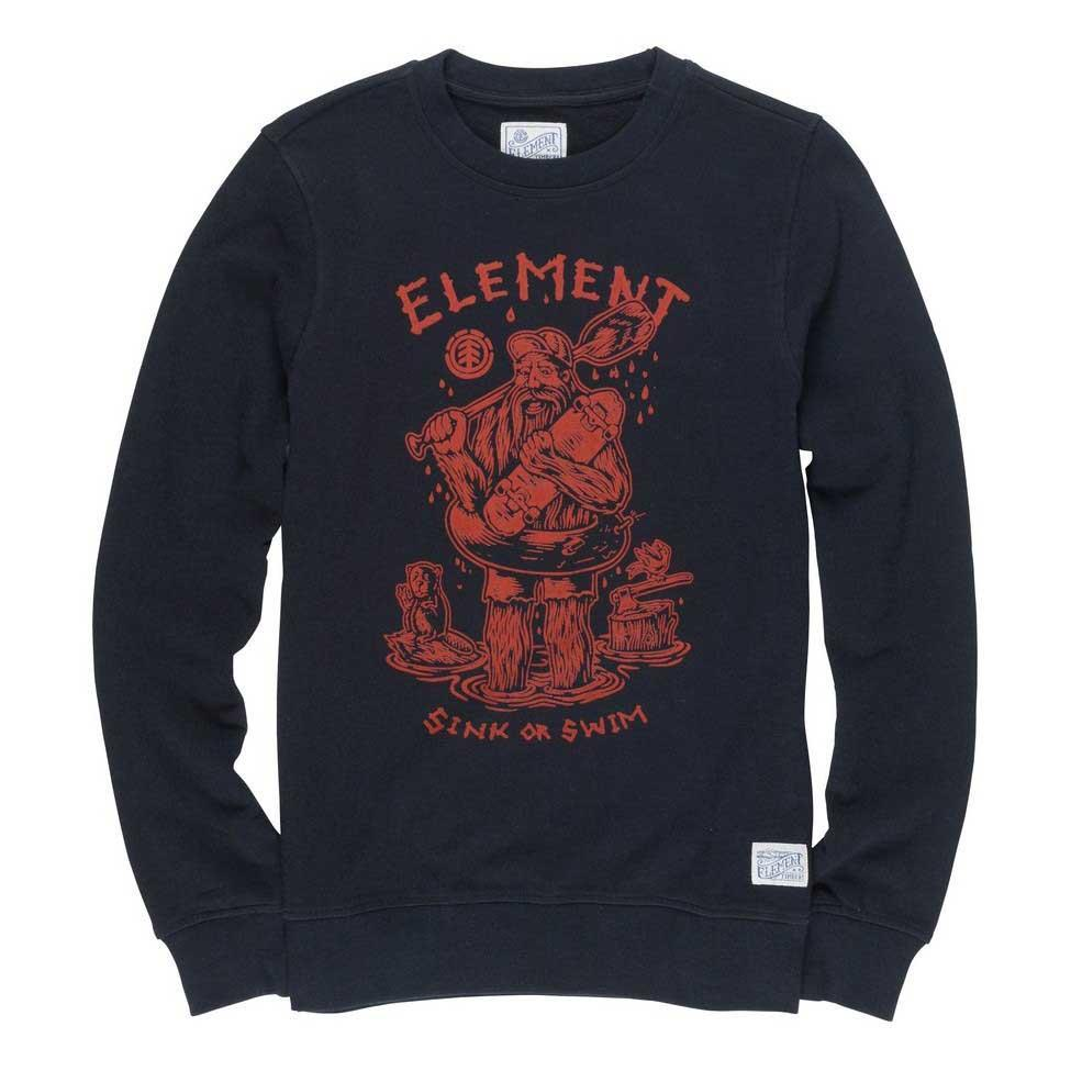 Element River Keeper Crew Black buy and offers on Dressinn