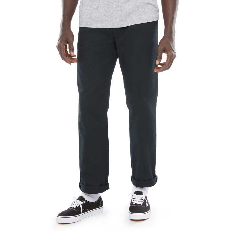 Vans Pantalones Chinos Authentic Pro Negro, Dressinn