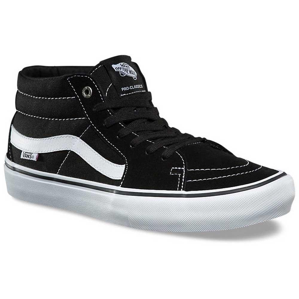 Vans Sk8-Mid Pro Black buy and offers