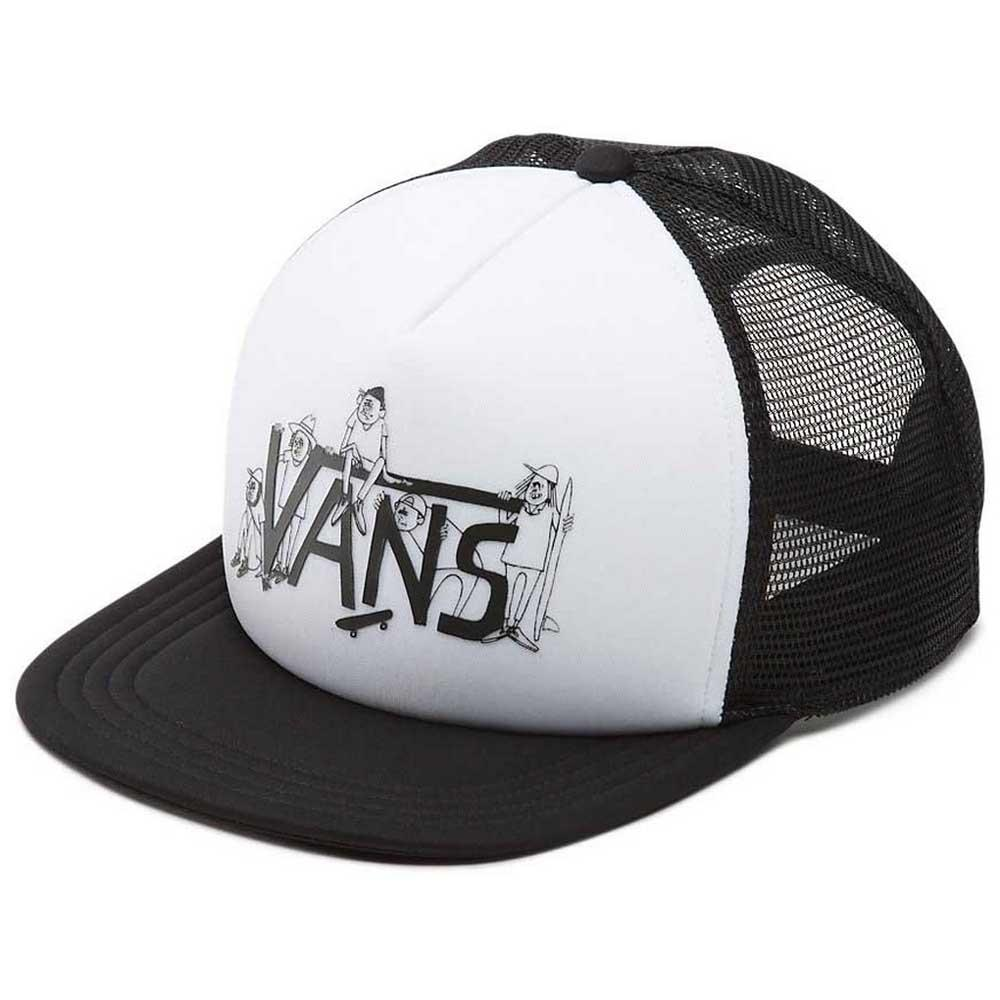 d6506b070d9f32 Vans Shaper Gang Trucker White buy and offers on Dressinn