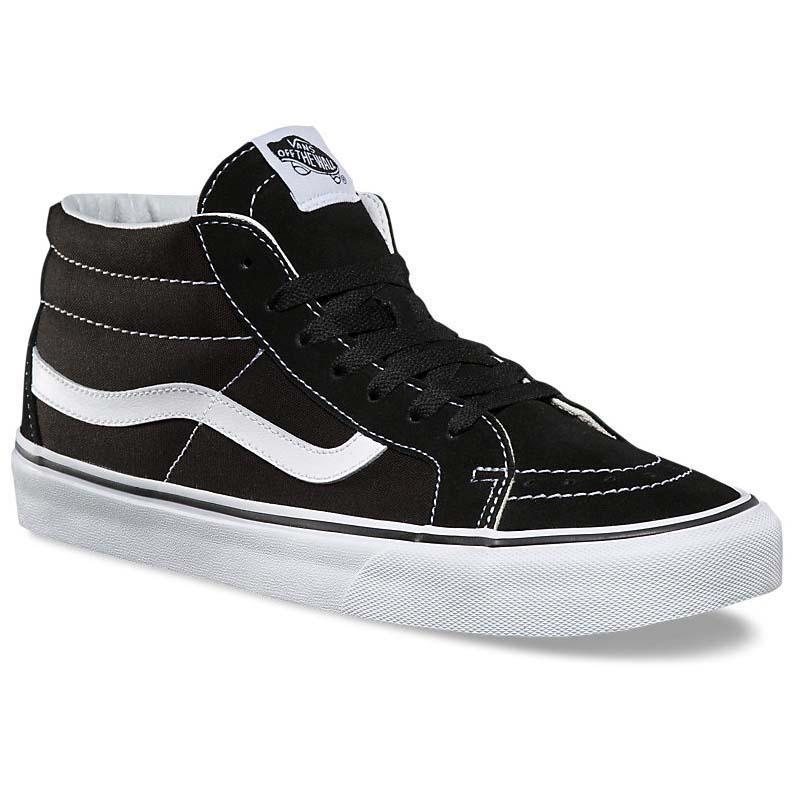 864c7c74ec Vans Sk8-Mid Reissue Black buy and offers on Dressinn