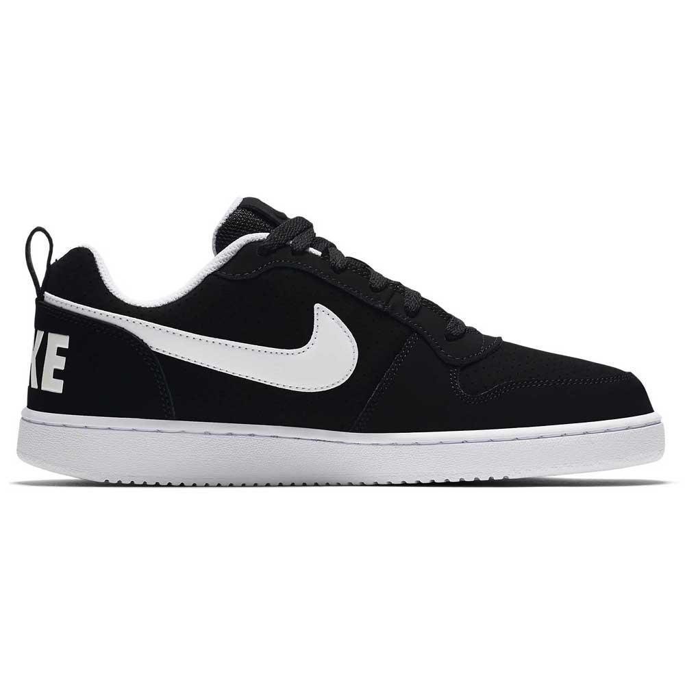 super cute d42bf 9e693 Nike Court Borough Low Black buy and offers on Dressinn
