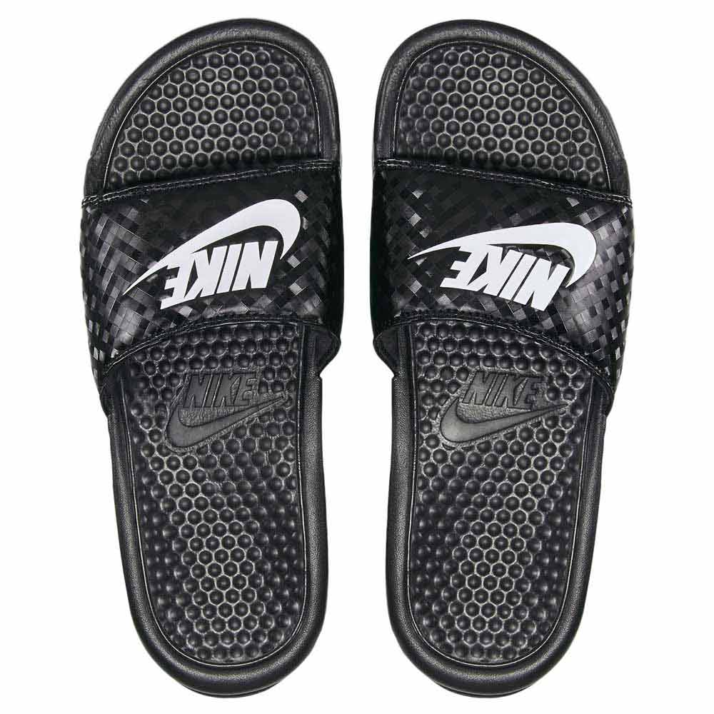 Nike Benassi Just Do It Black buy and offers on Dressinn 2e2b87bb224a