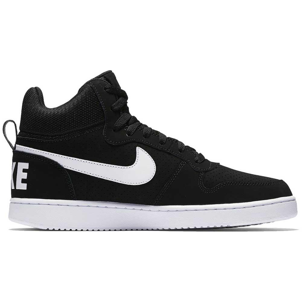 new product 855b3 c8476 Nike Court Borough Mid Black buy and offers on Dressinn