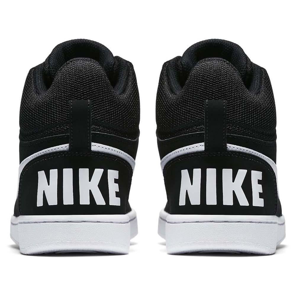 367ad8521ec Nike Court Borough Mid Black buy and offers on Dressinn