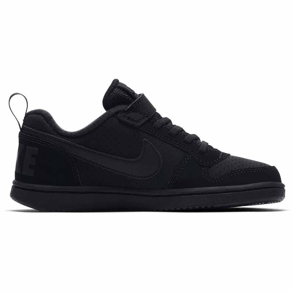 new products 85a28 365f0 Nike Court Borough Low PSV Black buy and offers on Dressinn