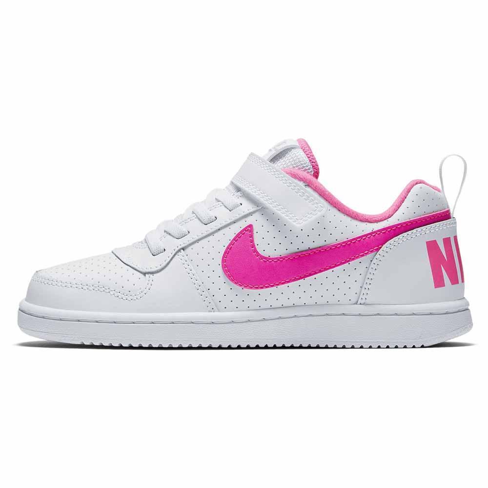 8c14a12a8e Nike Court Borough Low Girl PSV Blanco