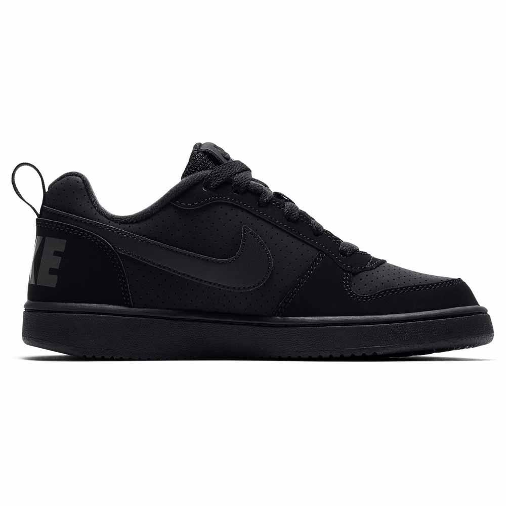 075526a32c7c Nike Court Borough Low GS Black buy and offers on Dressinn