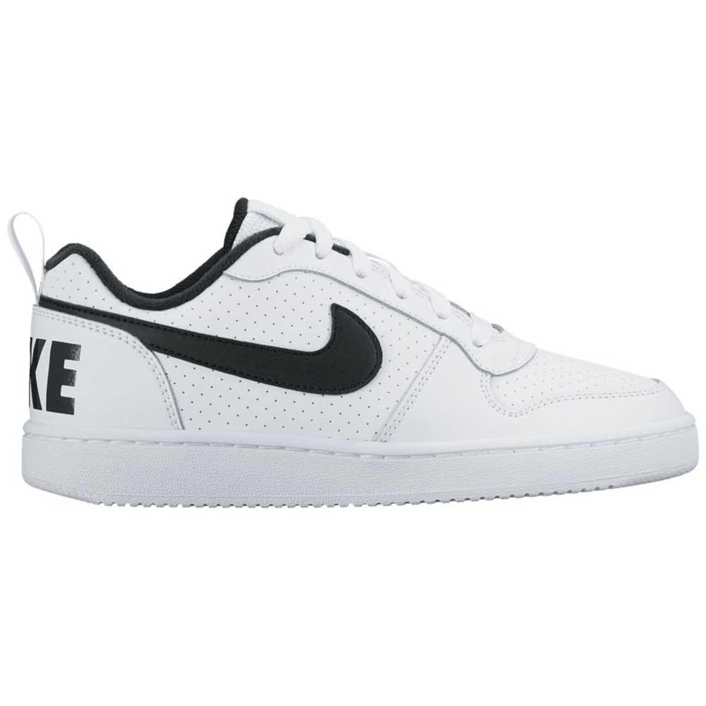 quality design 1079d 4a5bf Nike Court Borough Low GS White buy and offers on Dressinn