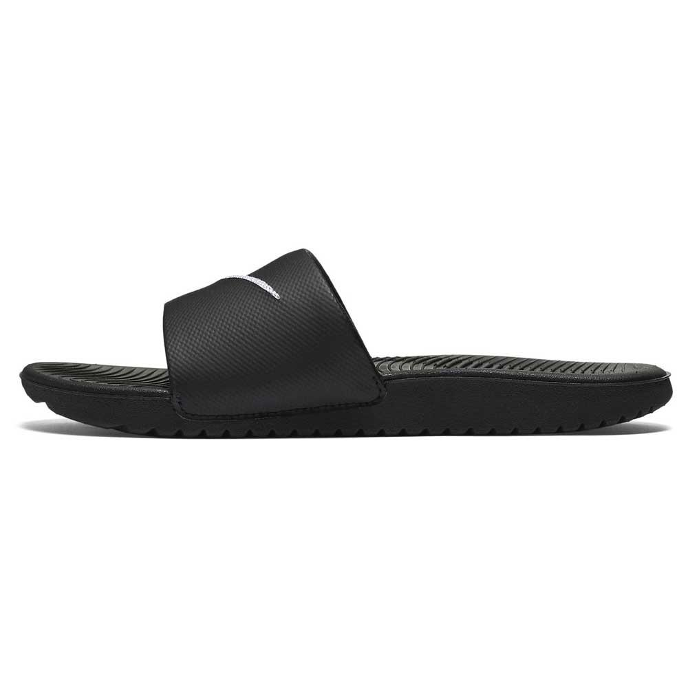 low priced 021bf 2af03 Nike Kawa Slide GS PS Black buy and offers on Dressinn