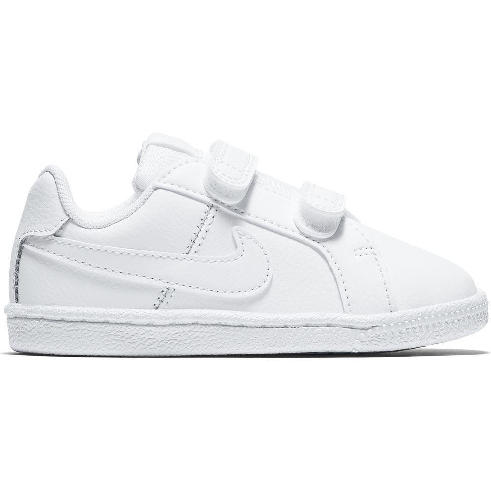 597fa638d6fb18 Nike Court Royale TDV White buy and offers on Dressinn