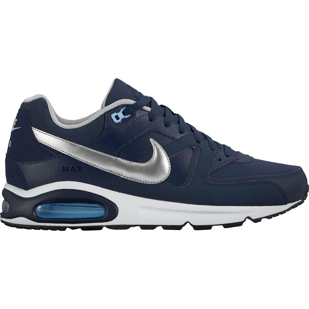 8913efee256b7 Nike Air Max Command Leather Blue buy and offers on Dressinn