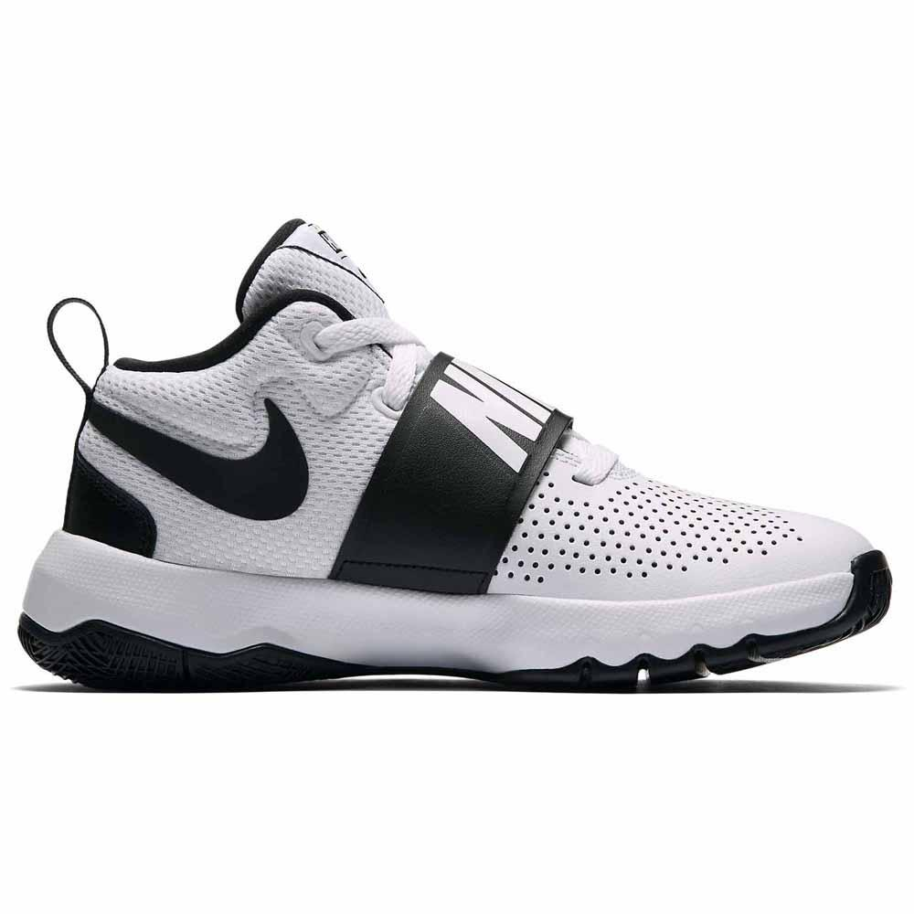 afijo paquete Prehistórico  Nike Team Hustle D 8 GS White buy and offers on Dressinn