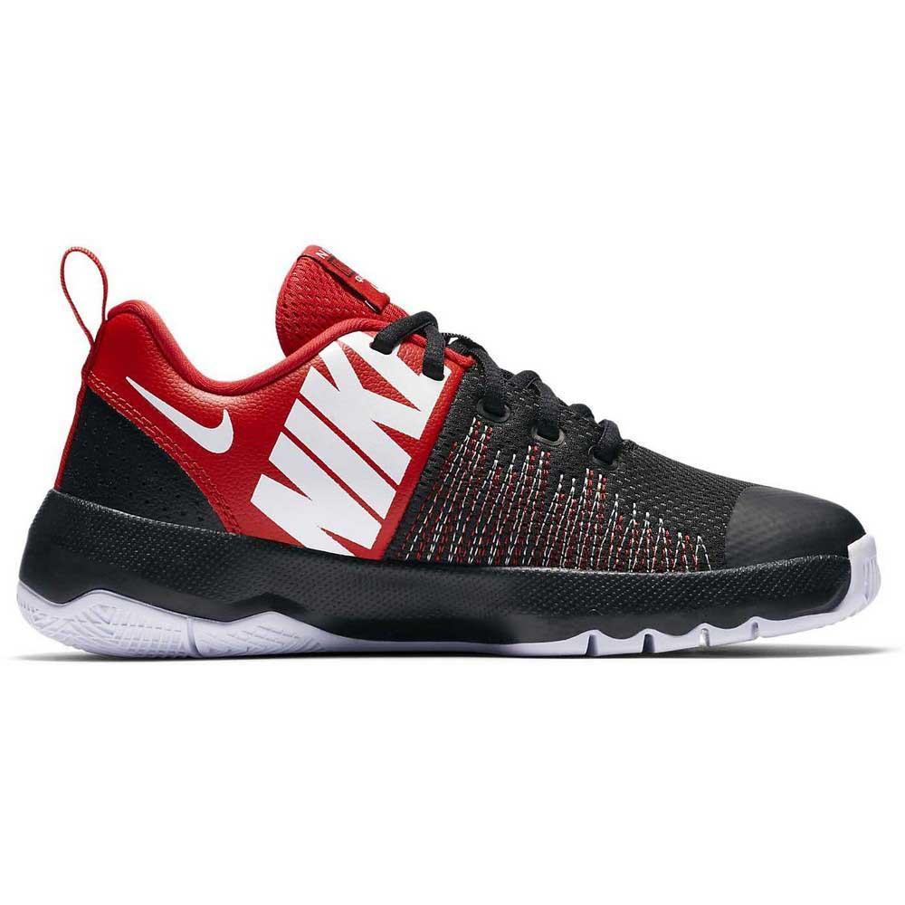 d93e30de2c5a Nike Team Hustle Quick GS Red buy and offers on Dressinn