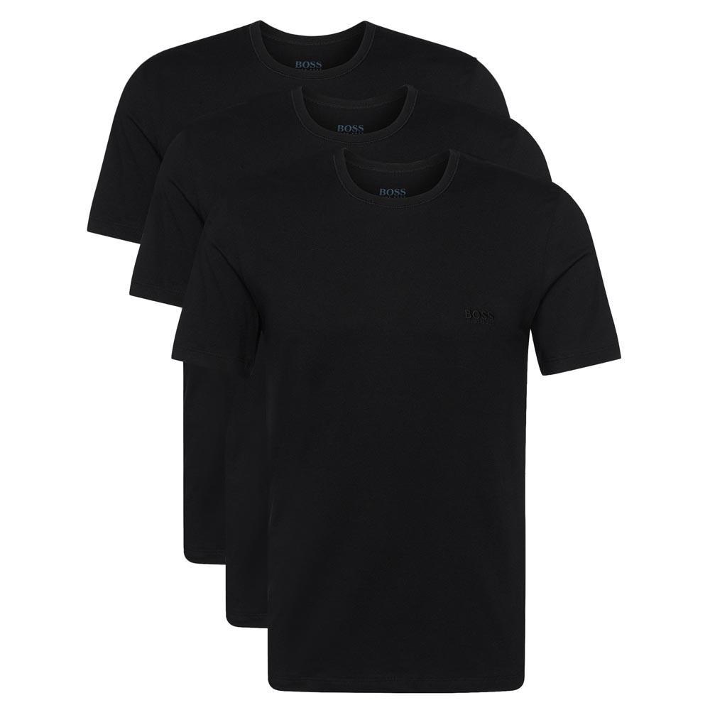 1615fc379 Hugo boss T Shirt RN 3 Pack Black buy and offers on Dressinn