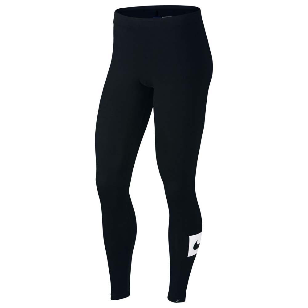 07df06315fa Nike Sportswear Club Swoosh Legging Black