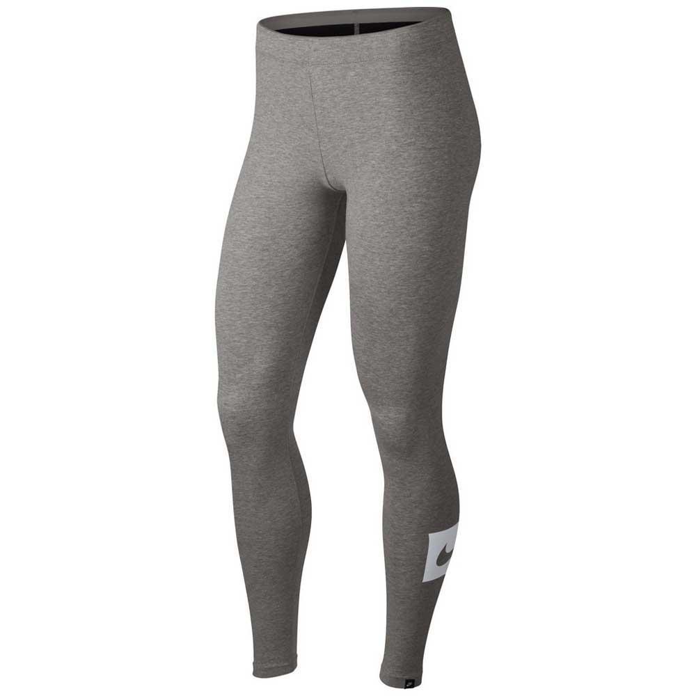 1dd2f36eab2 Nike Sportswear Club Swoosh Legging Grey