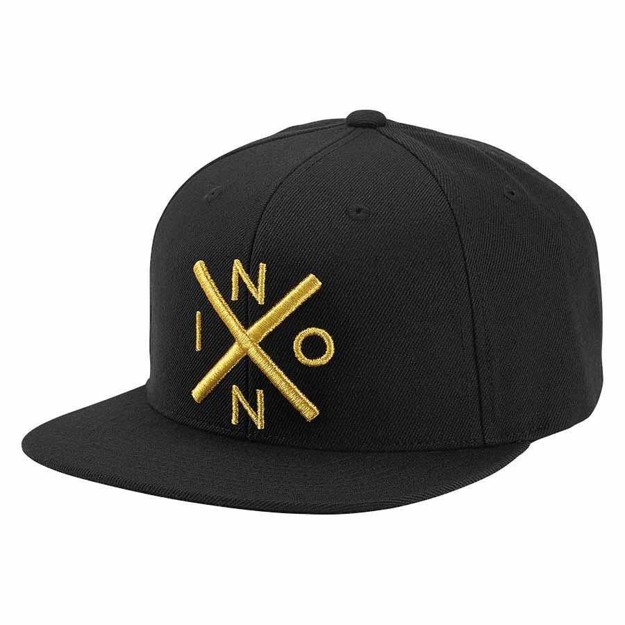 Nixon Exchange Snapback Black buy and offers on Dressinn 58411e351ca