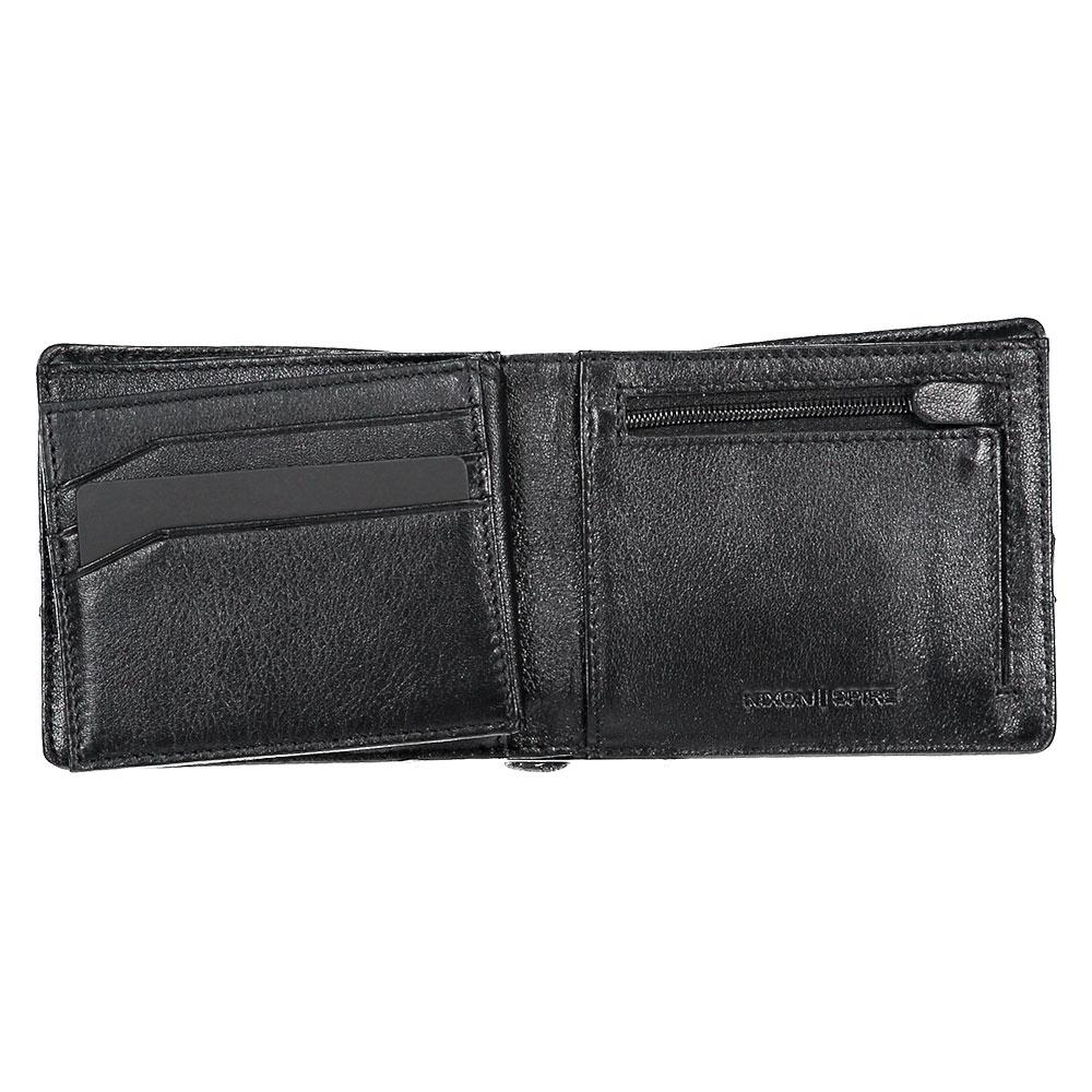 23a1c8e1744bd Nixon Spire II Bi Fold Wallet Black buy and offers on Dressinn