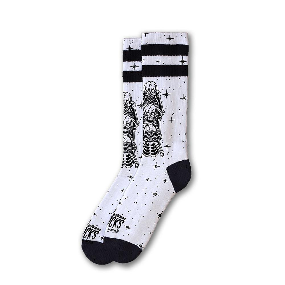 Chaussettes American-socks Wisemonkeys Mid High