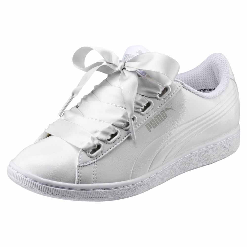 Puma Vikky Ribbon P Hvit kjøp og tilbud, Dressinn Sneakers