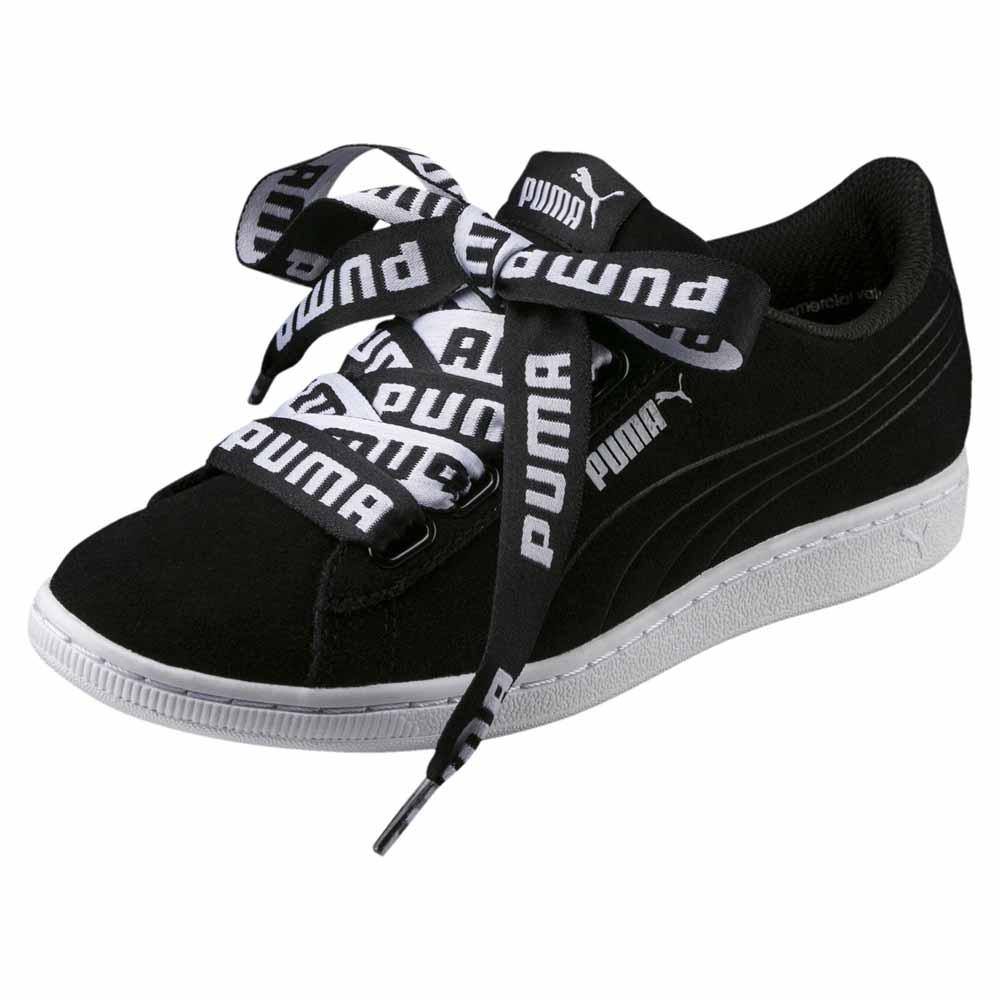 ab483f99c2e0b3 Puma Vikky Ribbon Black buy and offers on Dressinn