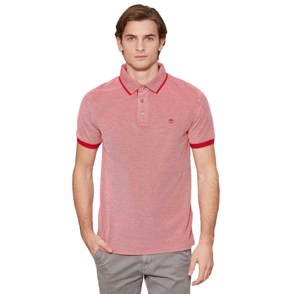 Timberland Millers River Lightweight Rød, Dressinn Polo skjorter