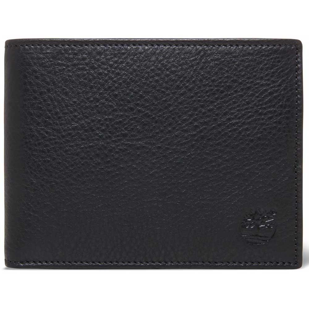 2a4ea9bf27644 Timberland Trifold Wallet Black buy and offers on Dressinn