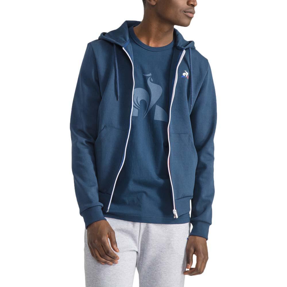 d3cd02519f5a Le coq sportif Essential Full Zip Hoody N1 Blue