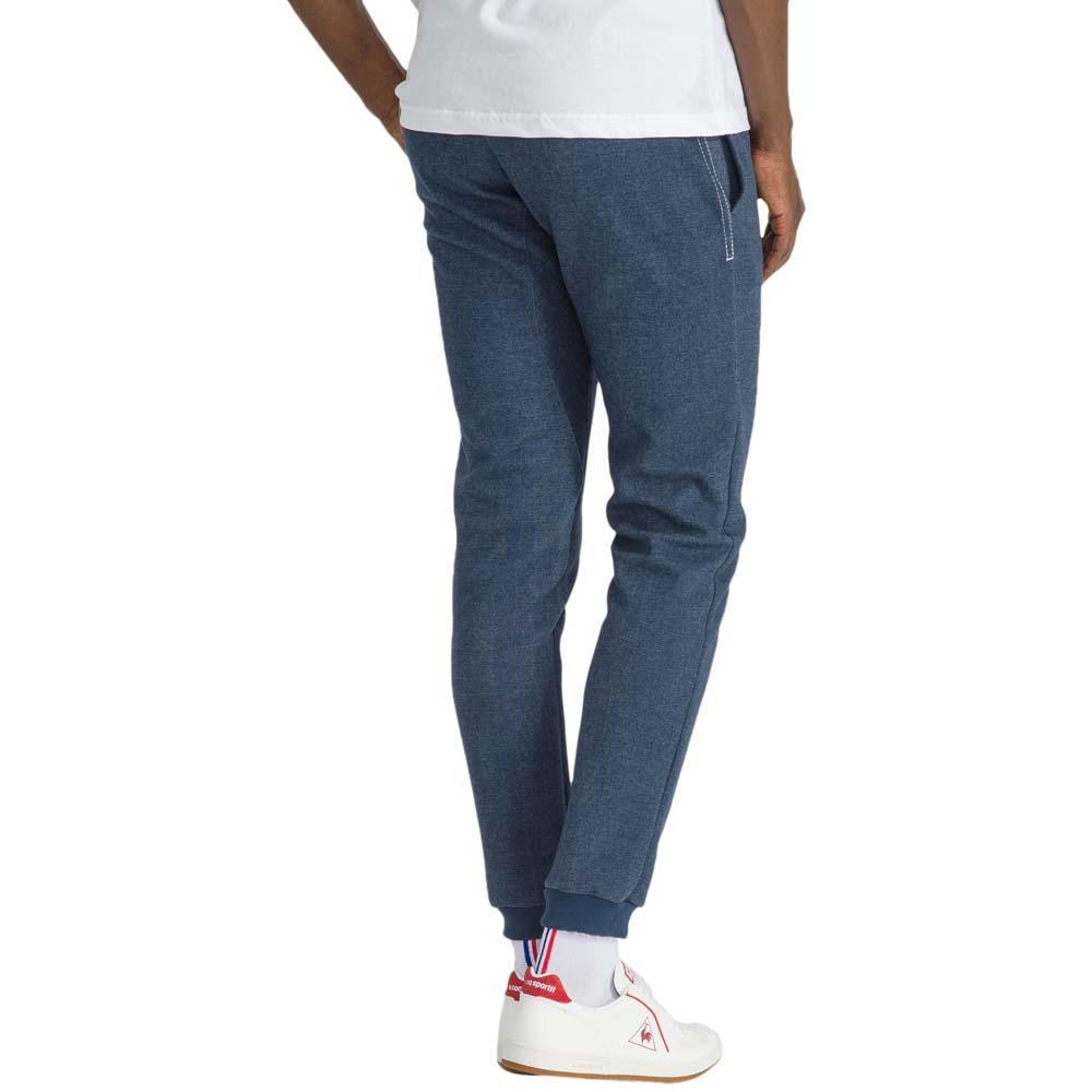 b100dc90d2e4e Pantalons Le-coq-sportif Tricolore Tapered Denim N1