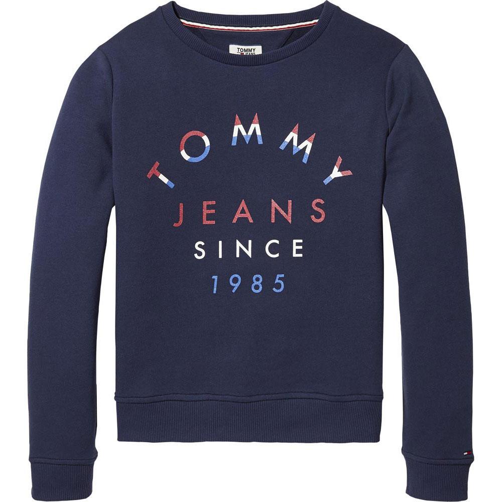 84caf0695 Tommy hilfiger Logo Sweatshirt Blue buy and offers on Dressinn