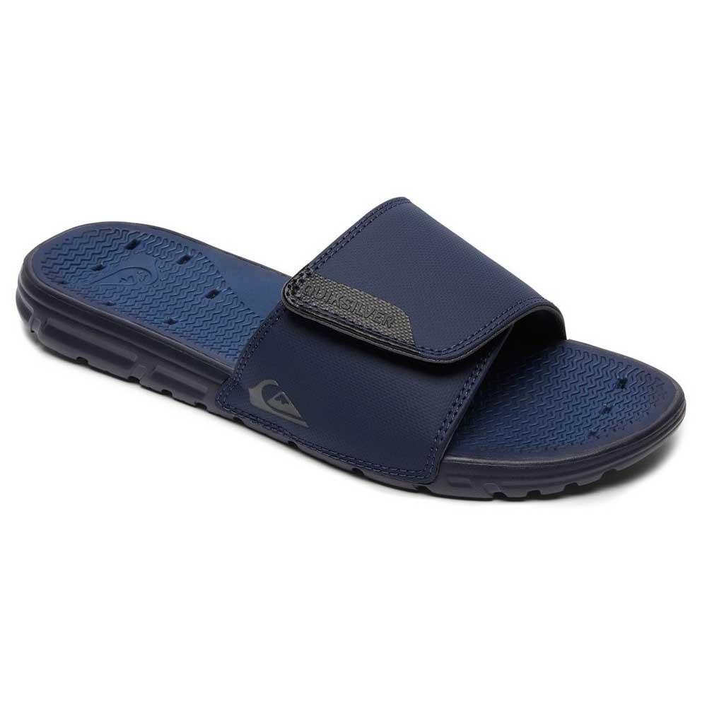 0bd55b17269 Quiksilver Amphibian Slide Adjust Blue
