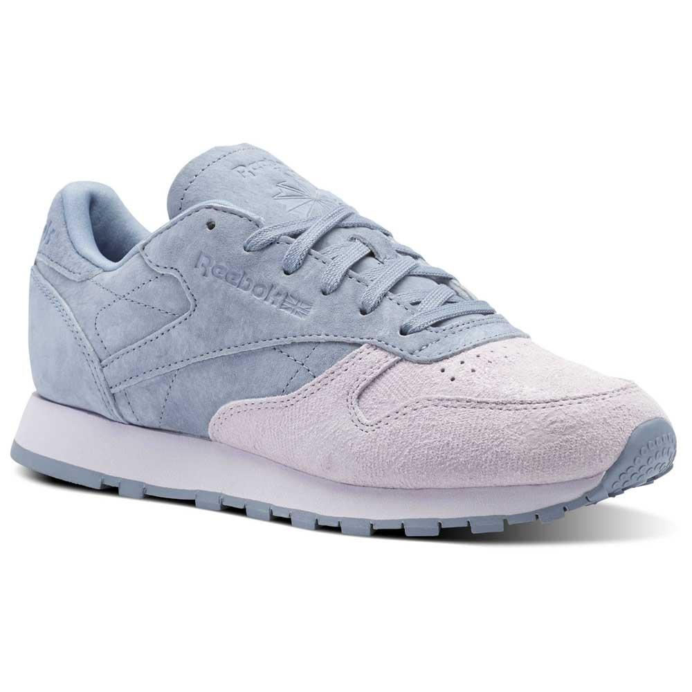 1a8af46483efb Reebok classics Leather NBK Blue buy and offers on Dressinn