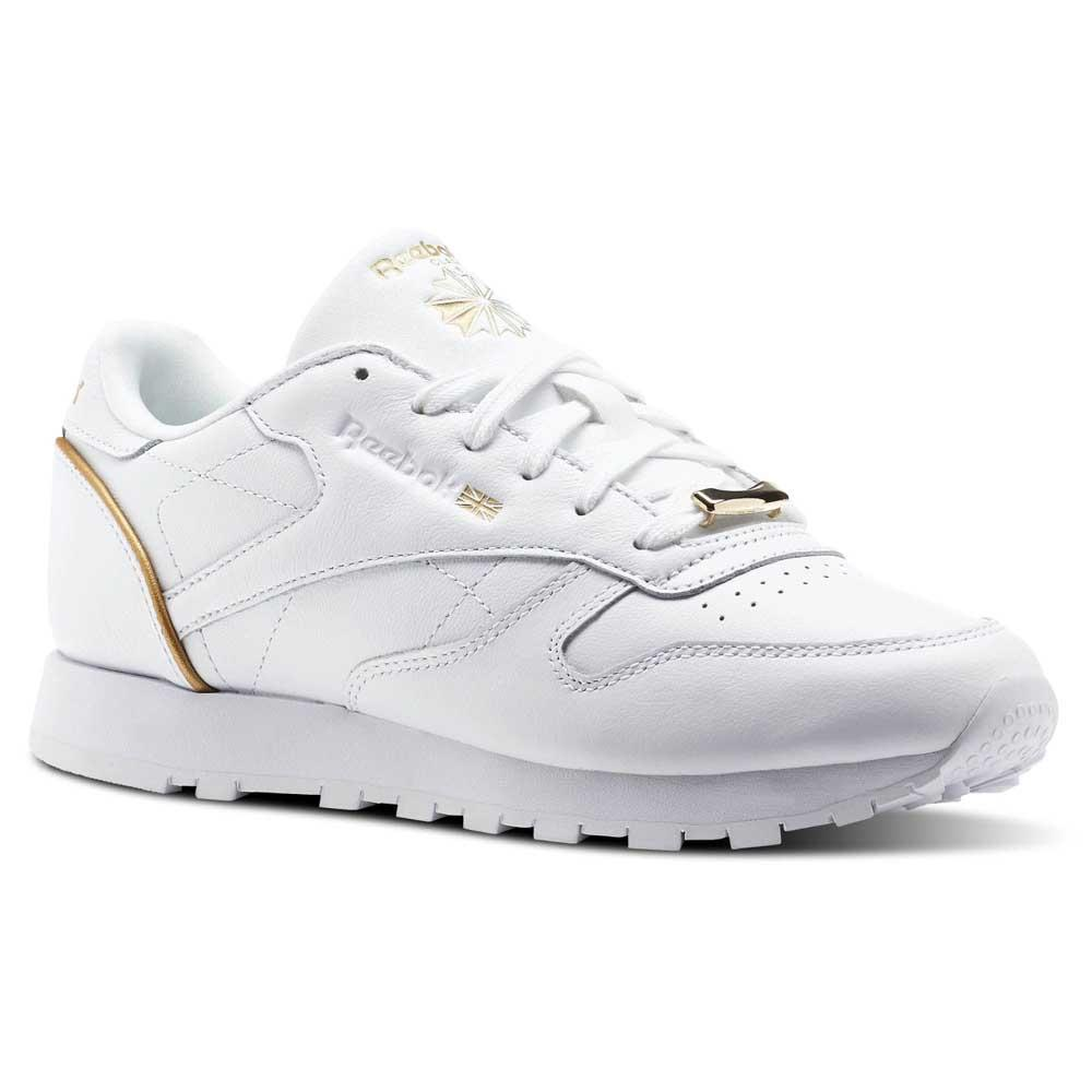 77d8640e2f502 Reebok classics Leather HW White buy and offers on Dressinn