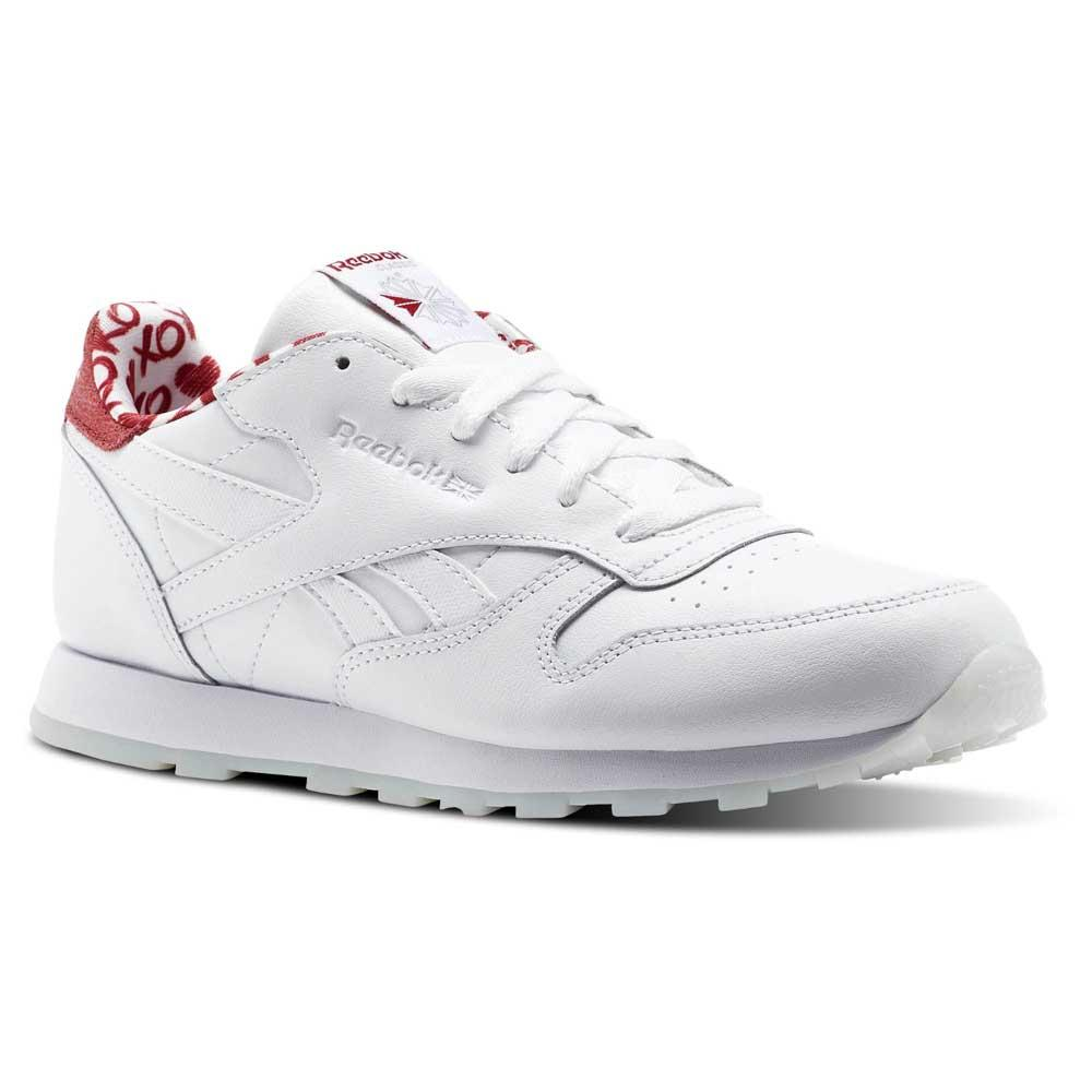 989202b01ab Reebok classics Leather Hearts White buy and offers on Dressinn