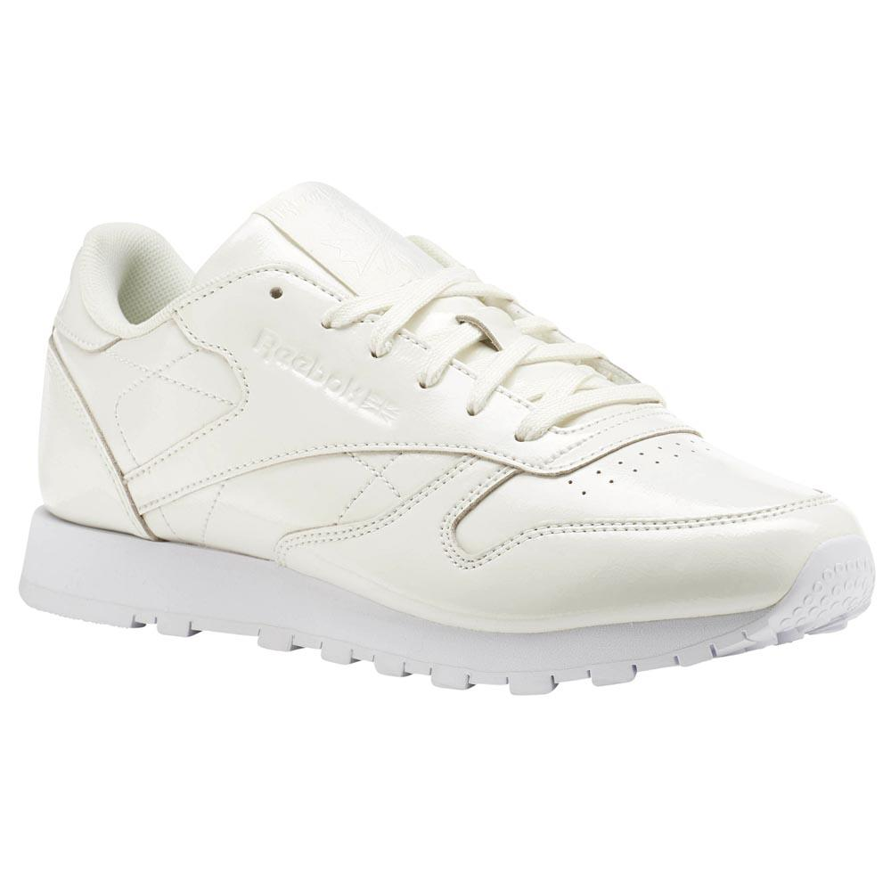 10f252691c8e3 Reebok classics Cl Lthr Patent White buy and offers on Dressinn
