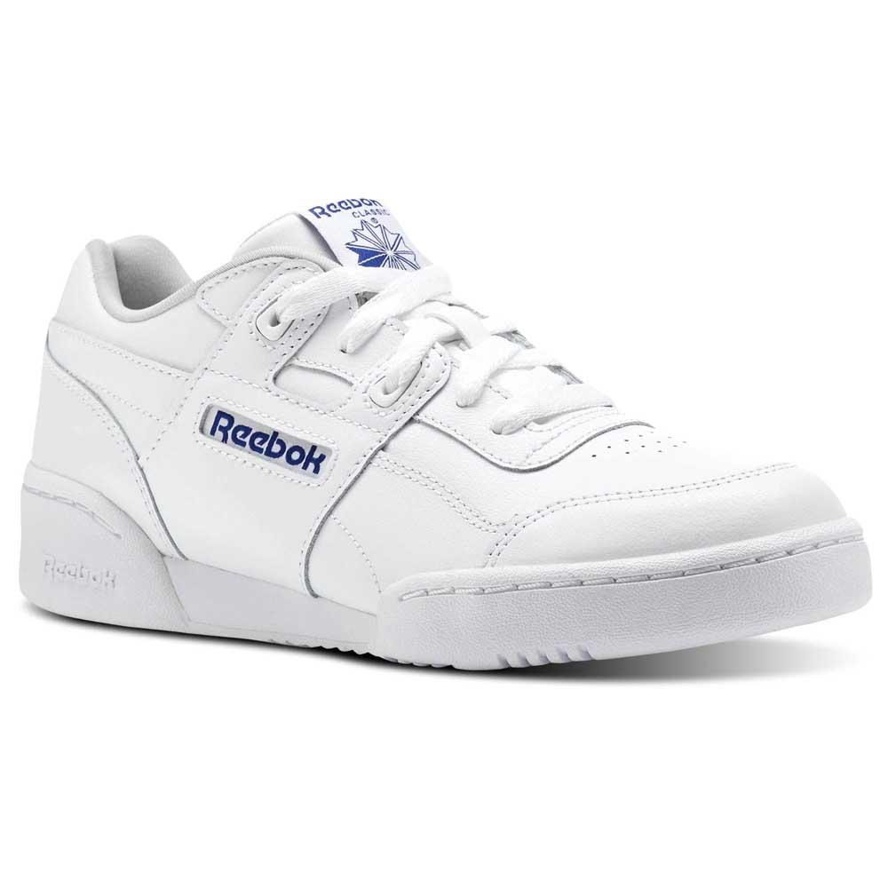 5a1bcb3105a Reebok classics Workout Plus White buy and offers on Dressinn