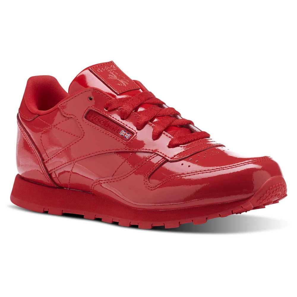 55ba80581103 Reebok classics Classic Leather Patent Red