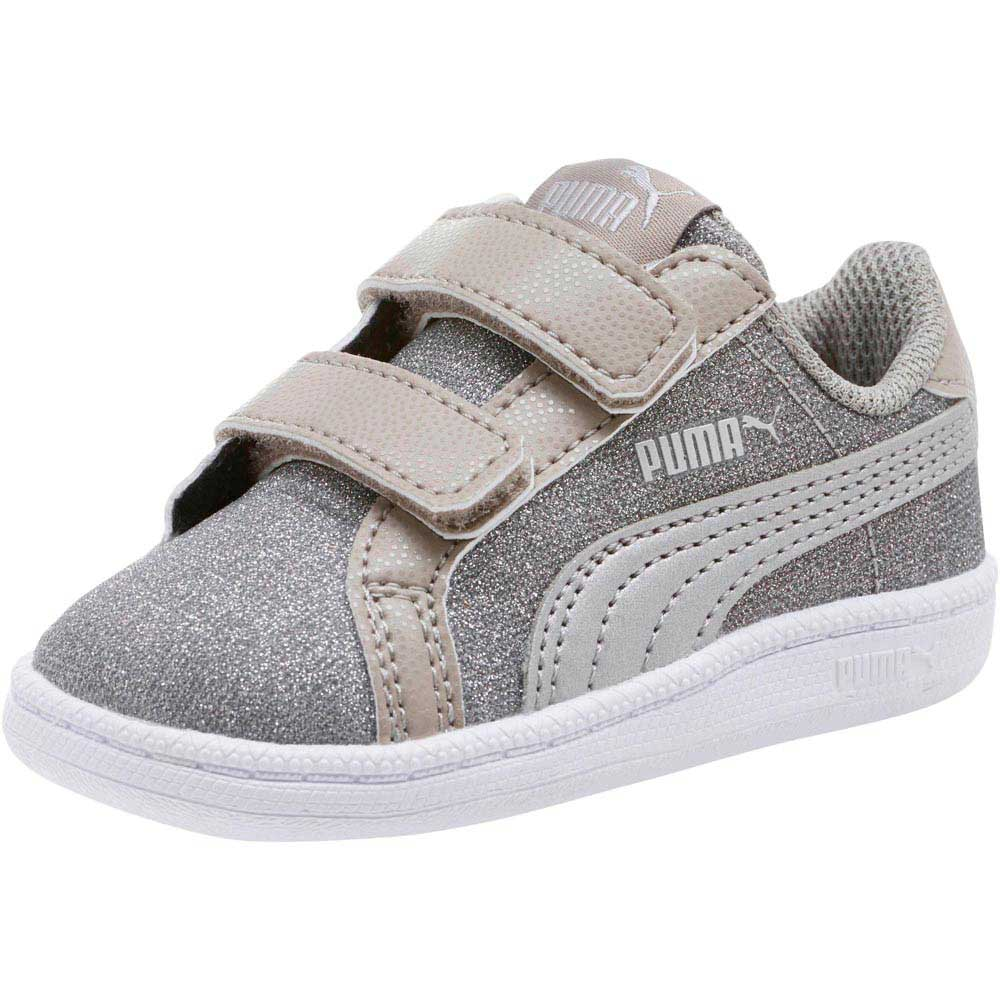 0e3de9d708a8 Puma Smash Glitz Glamm V Inf Grey buy and offers on Dressinn