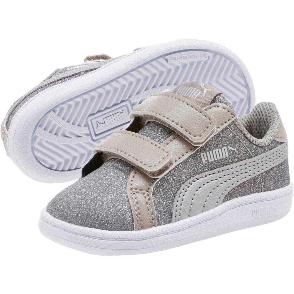 6e04379575a Puma Smash Glitz Glamm V Inf Grey buy and offers on Dressinn