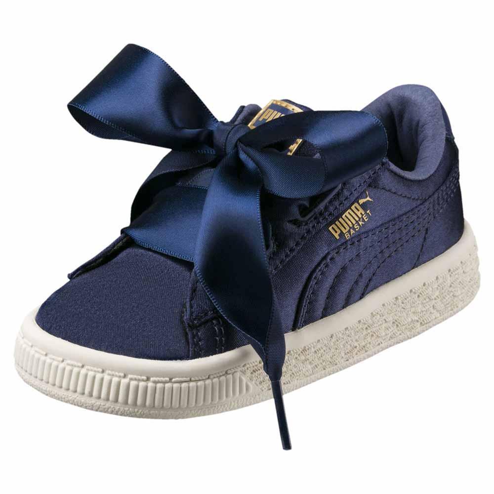 best website 032fb 963bd Puma select Basket Heart Tween Inf Blue, Dressinn