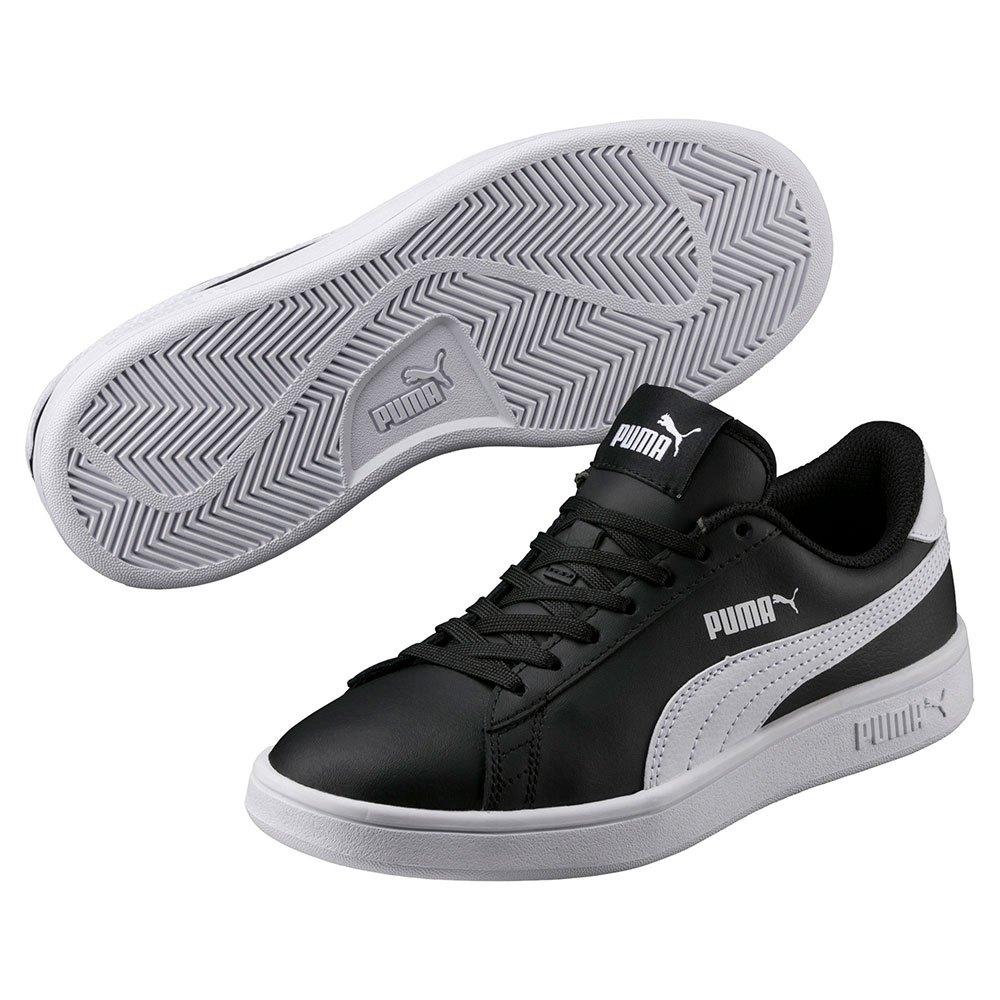 Puma Smash V2 L Black buy and offers on Dressinn 76618e337