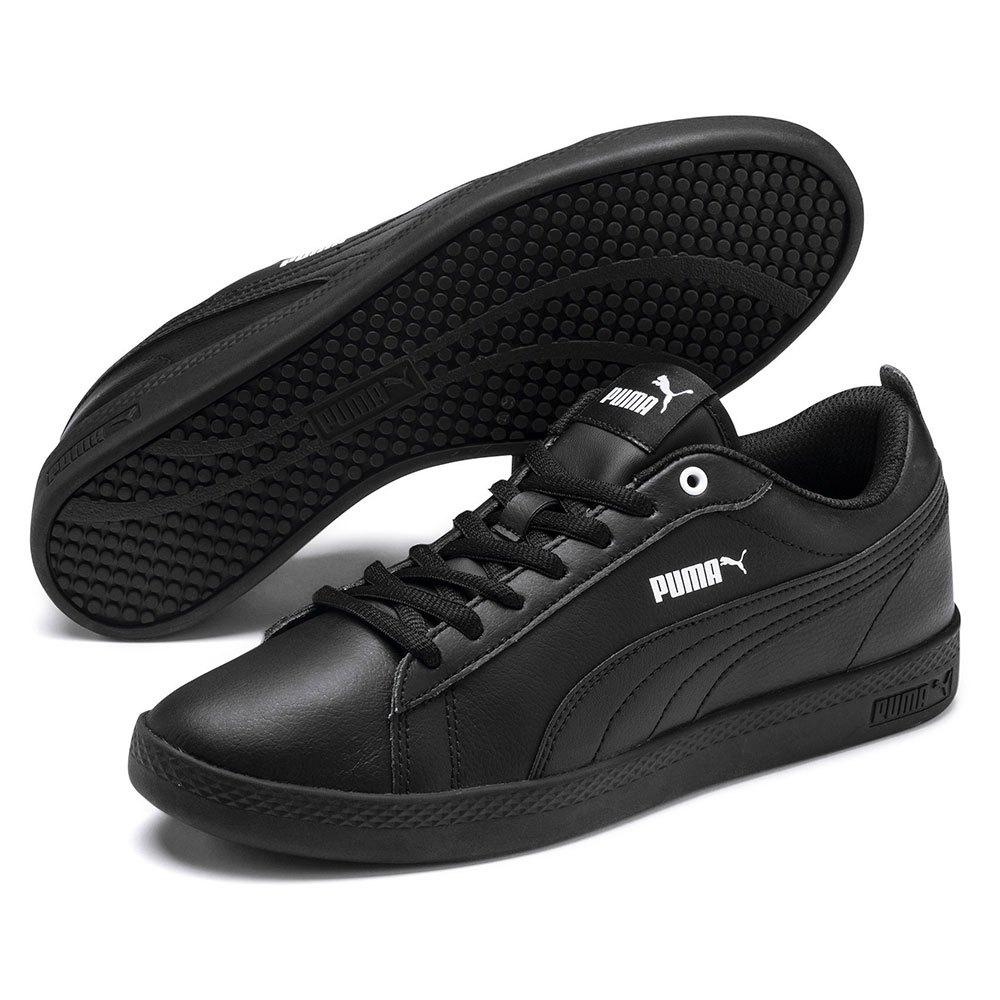 047cb1e052eb Puma Smash V2 L Black buy and offers on Dressinn