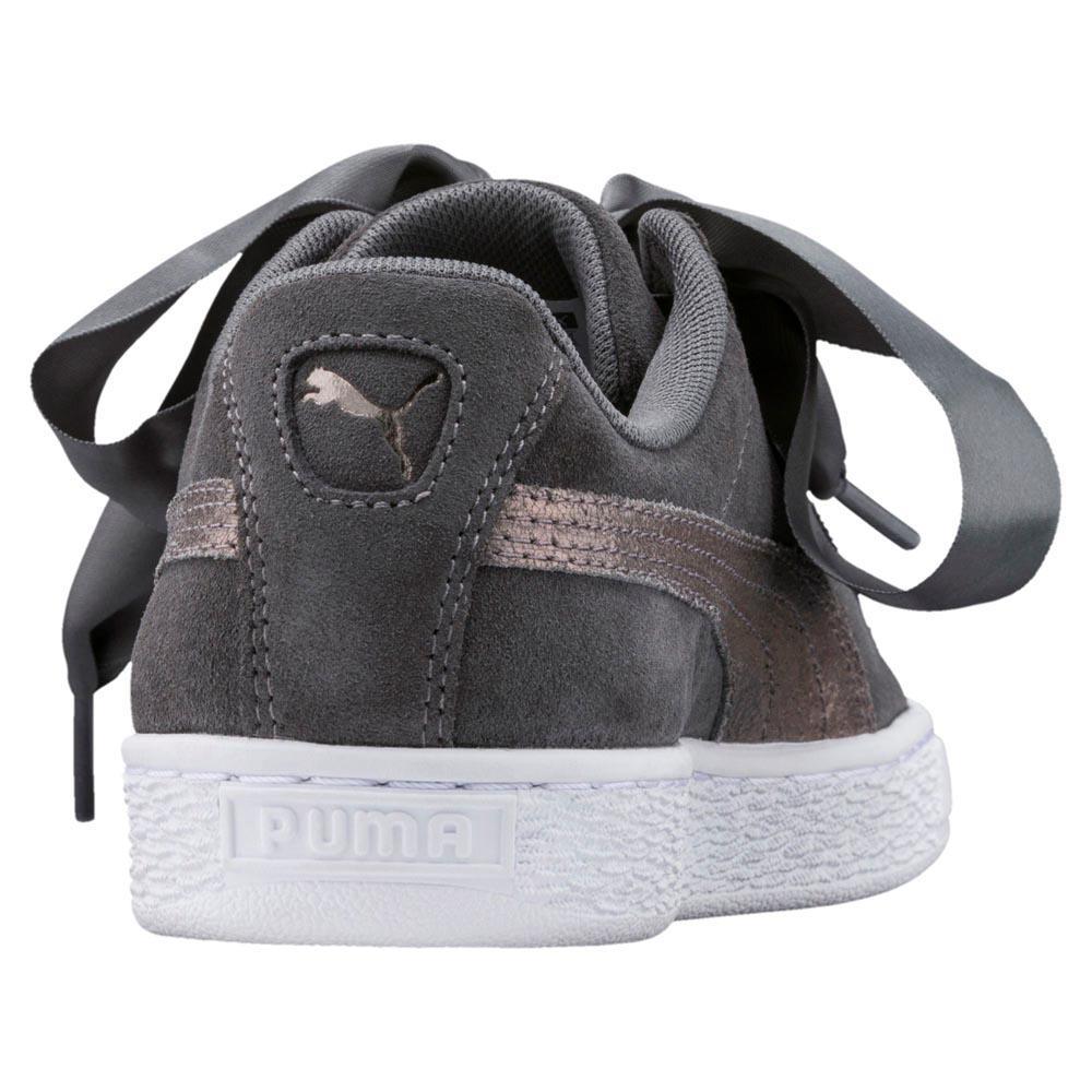 Puma select Suede Heart Lunalux Gris, Dressinn