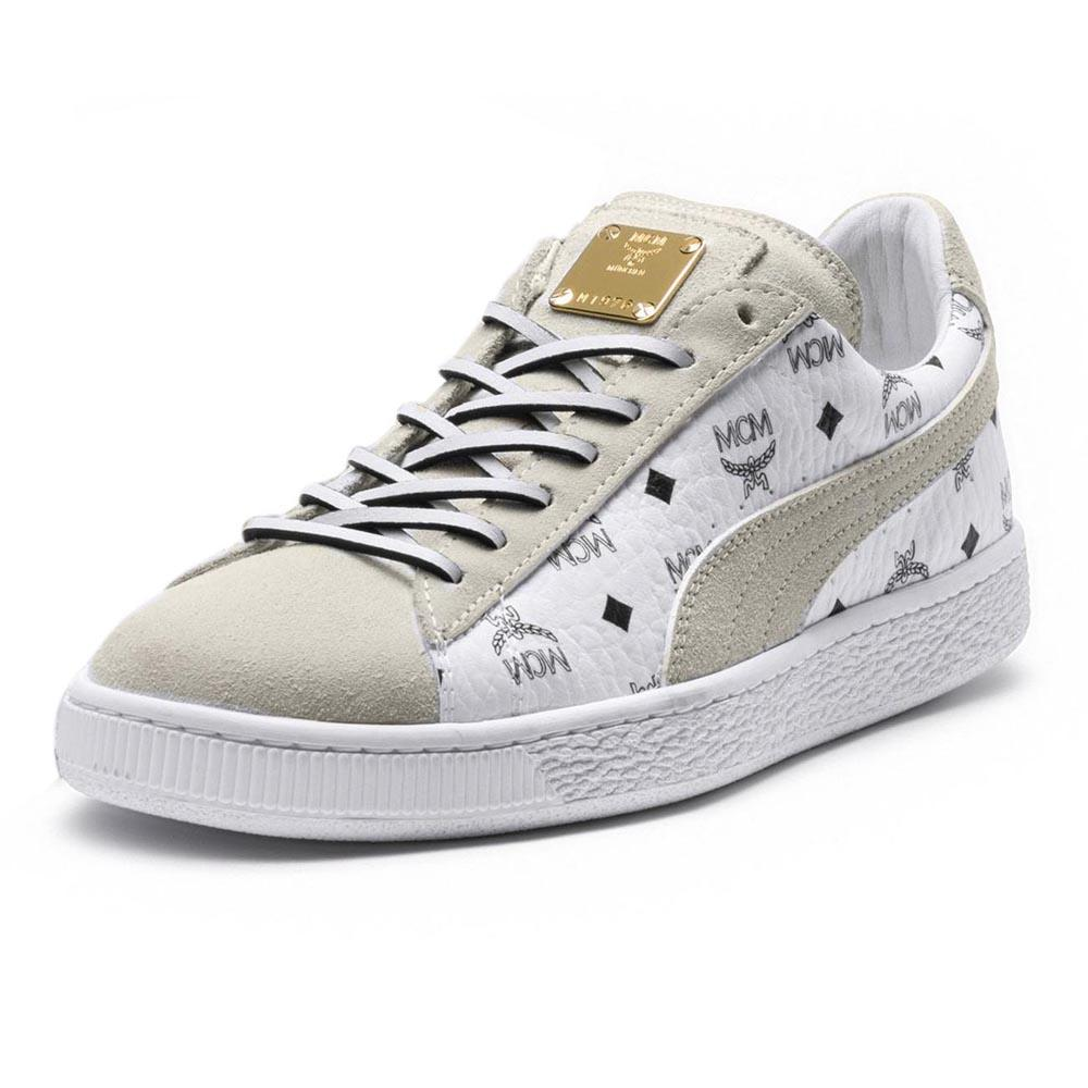 size 40 121d0 f312a Puma select Suede Classic MCM White buy and offers on Dressinn