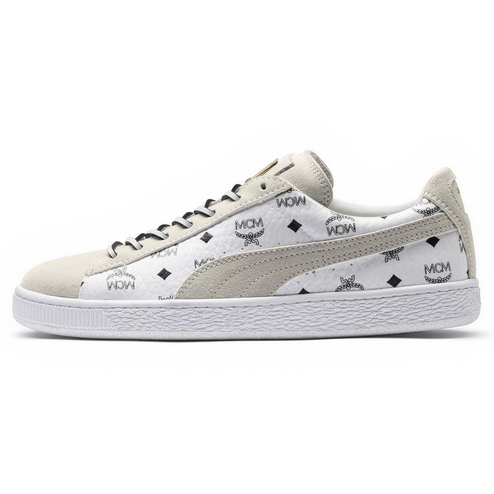 size 40 16060 1f51a Puma select Suede Classic MCM White buy and offers on Dressinn